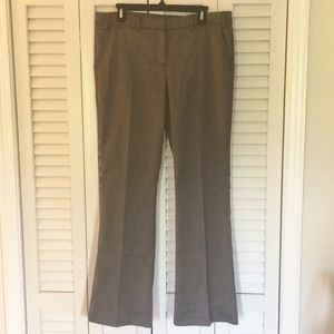 Worthington low rise slim fit boot cut trousers